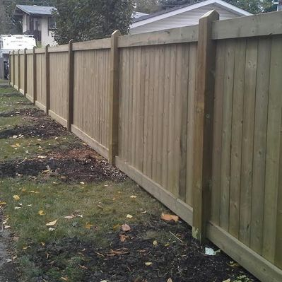 fence construction