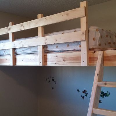 bunk bed installation